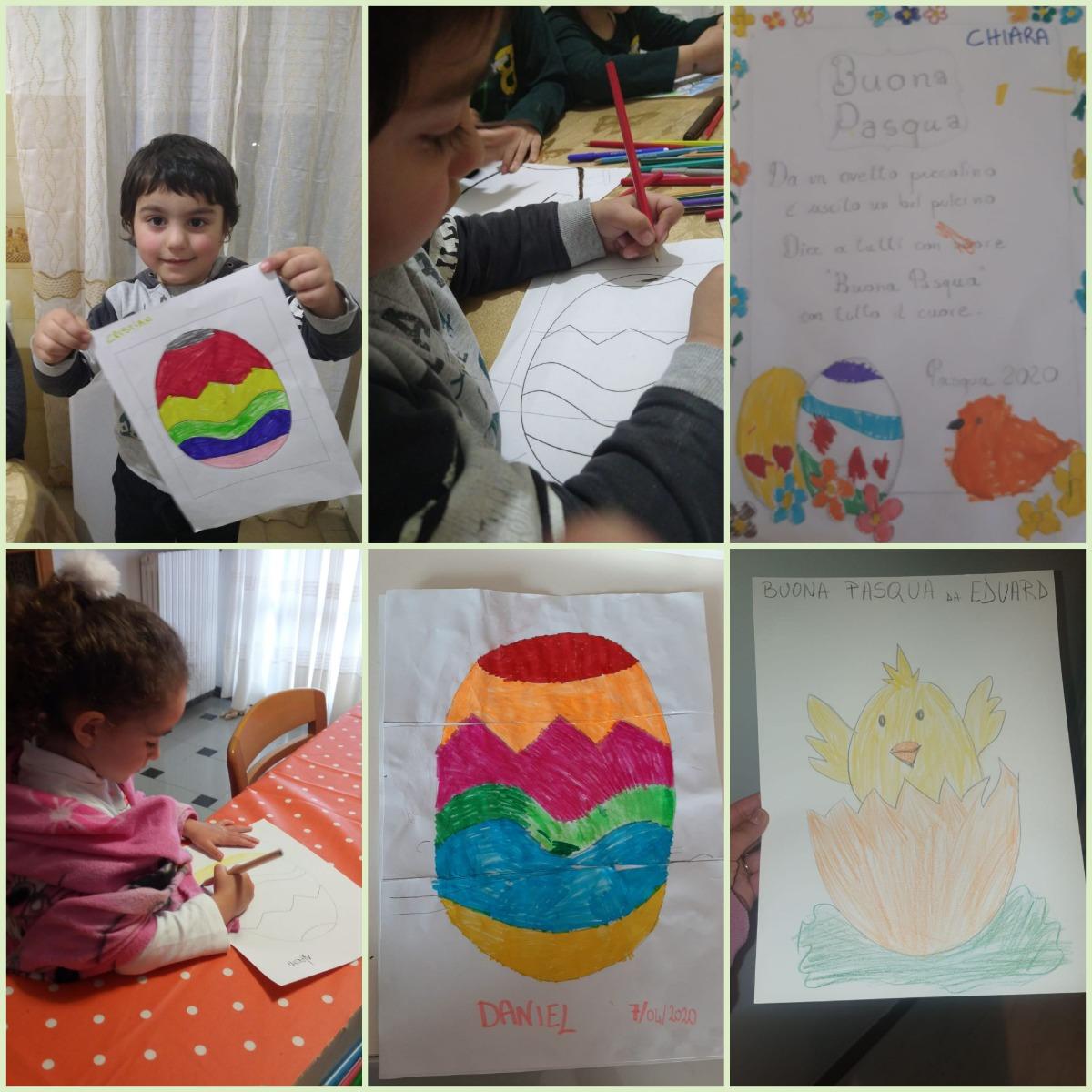 Sezione H lavori inerenti la Pasqua