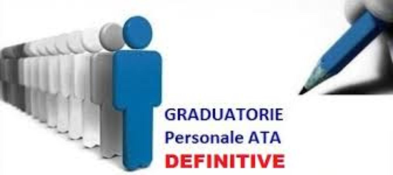 Graduatorie provvisorie d'istituto PERSONALE AT...