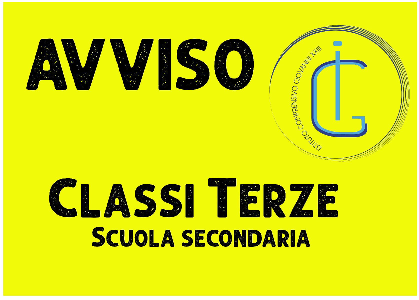 Sospensione DAD classi terze - Scuola Secondari...
