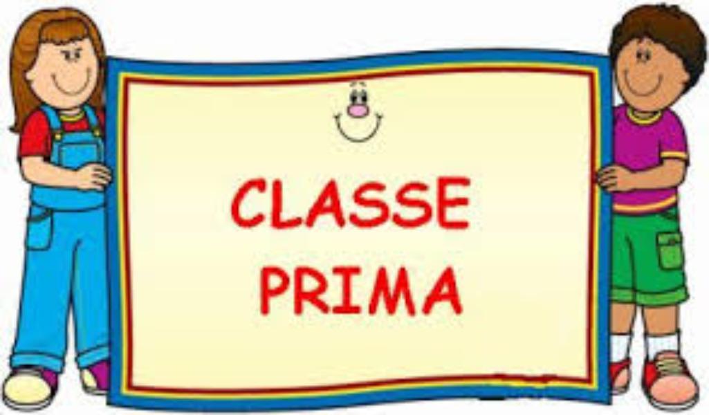 COSA MI SERVE  IN CLASSE PRIMA