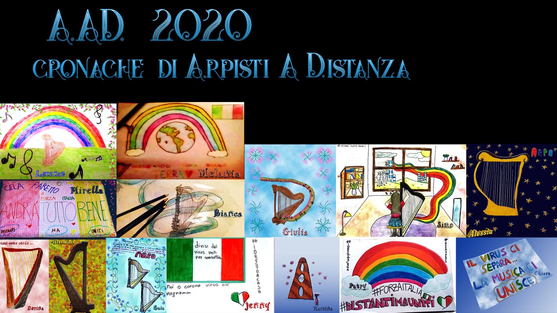 """""""CRONACHE DI ARPISTI A DISTANZA"""", IL FILM DEGLI ALLIEVI DI ARPA!"""